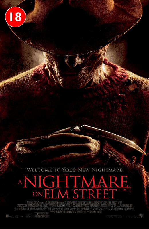 Nightmare on Elm Street Movie Cover