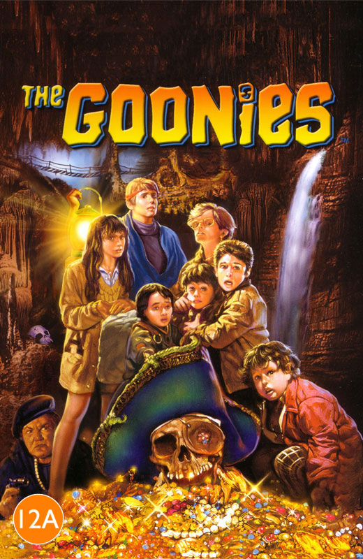 The Goonies Movie Cover